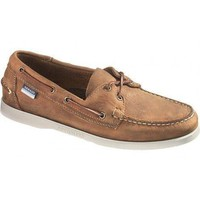 Docksides Boat Shoes in Brown by Sebago - FINAL SALE