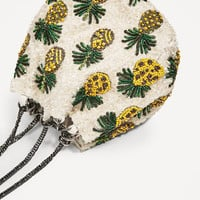 PINEAPPLE BUCKET BAG DETAILS