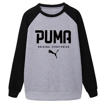 Trendsetter Puma Women Men Fashion Casual Top Sweater
