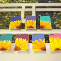Hand Painted Sunflower iPhone 5/5s Case
