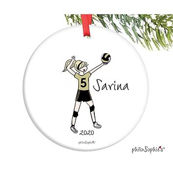 Volleyball Ornament - personalized philoSophie's
