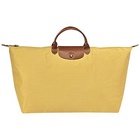 "Extra-Large Travel Bag XL ( curry ) by longchamp paris "" LE PLIAGE "" 100% authentic original from PARIS FRANCE"
