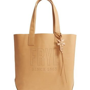 Frye Carson Perforated Logo Leather Tote | Nordstrom