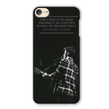 Shawn Mendes Quotes Phonecase Cover Case For Apple Ipod 4 Ipod 5 Ipod 6