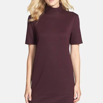 Women's Donna Morgan Mock Neck Knit Shift Dress,