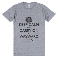 Keep Calm And Carry On My Wayward
