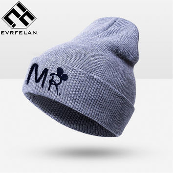 Fashion Winter Baby Hat Lovely Baby Cap For Warm Children Winter Knitted Hat Kids Brand Boy Girl Hat Casquette Drop Shipping