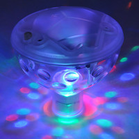 Hot Fashion Color Changing Glowing LED Underwater Light Show Swimming Pool Disco Party Spa Bath Pond Waterproof Lights