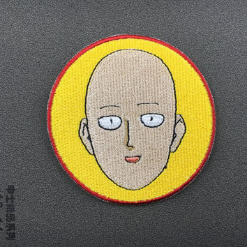 funny head patches embroidered patch iron on patches iron on patch sew on patch