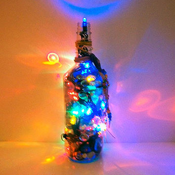 Bottle Light -  Lighted Bottles - Liquor Bottle Lamp - Teens Mood Lighting