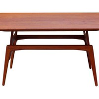 Metamorphic Danish Modern Coffee Table