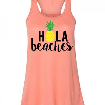 Hola Beaches Tank Top For Women