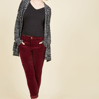 You Wear the Pants in Burgundy | Mod Retro Vintage Jackets | ModCloth.com