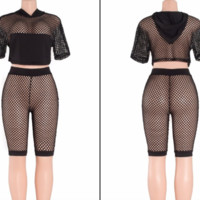 Fishnet two piece