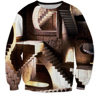 Labyrinth Stairs Sweater