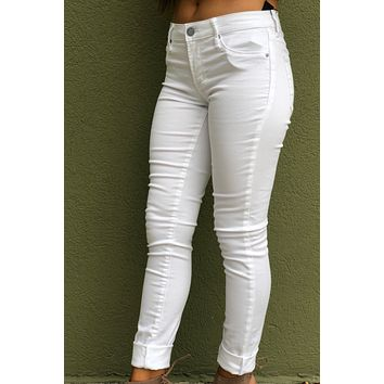 "Articles Of Society ""Mya Skinny""- White"
