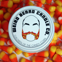 Children of the Candy Corn 8oz soy candle vanilla candy corn scented