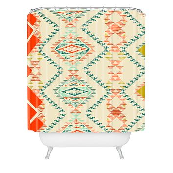 Pattern State Marker Southwest Shower Curtain