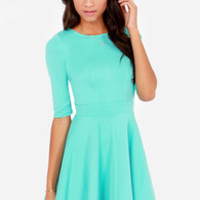 Just a Twirl Mint Dress