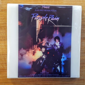 Single Tile Drink Coaster Prince Purple Rain Movie Gift