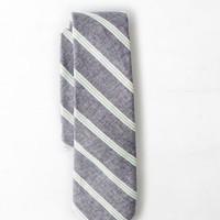 AEO Men's Striped Tie (Navy)