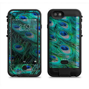 The Neon Multiple Peacock Apple iPhone 6/6s LifeProof Fre POWER Case Skin Set