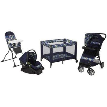 Cosco Complete Baby Gear Bundle,Stroller Travel System,Play Yard,High Chair Collection