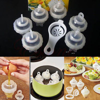 Egg Cooker Hard Boiled Eggs without the Shell 6 Egg Cups As Seen On TV