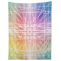 Lisa Argyropoulos Linear Colorburst Tapestry