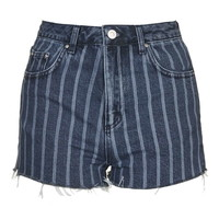 MOTO Laser Stripe Mom Short