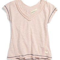 Roxy 'Flurries' Tee (Big Girls) | Nordstrom