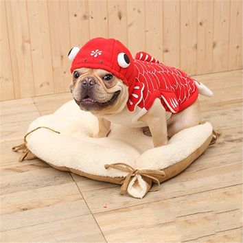 Pet Costume Dog Cat Clothing For Pets Costume Clothing For Domestic Cat Lion Hair Suit Police Tuxedo Cat Costume QQM2025