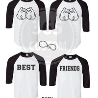 Best Friends Raglan (Baseball Tee)