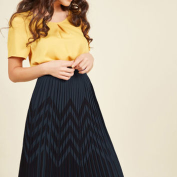 Scene of Your Studies Skirt | Mod Retro Vintage Skirts | ModCloth.com