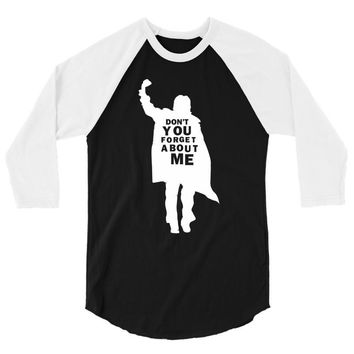 don't you forget about me 80's party music retro 3/4 Sleeve Shirt