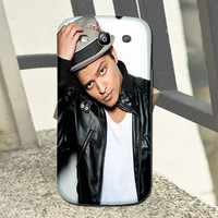Great Gift Bruno Mars Singer Samsung Galaxy S2 S3 S4 Mini Note 1 2 3 Nexus S Ace Plus Back Hardshell Cover Case