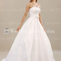 Elegant Satin Ball Gown