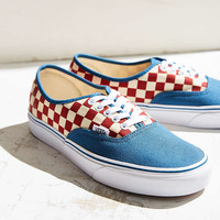 Vans 50th Anniversary Authentic Checkerboard Sneaker - Urban Outfitters