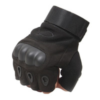 Black Anti-skidding Wear-resisting Tactical Cycling Glove