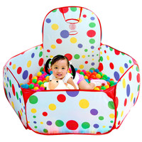 Foldable Play Tent for Kids Ocean Ball Pool/Pit  Boys Girls Chidren Play House Gifts In/Outdoor Toy Tents piscina de bolinha