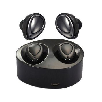 ONETOW Latest True Wireless Bluetooth Earbuds Headset With Portable Charging Case