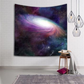 New Space Starry Sky Deep Outer Space Nebula and Galaxy in the Universe Decorative Wall Tapestry 3D Printed Room Dorm Tapestry