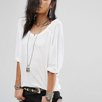 Free People Moonlight Tee at asos.com