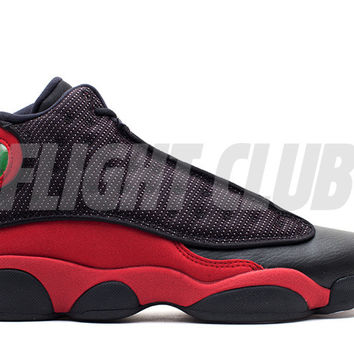 "air jordan 13 retro (gs) ""2013 release"" - black/varsity red-white 
