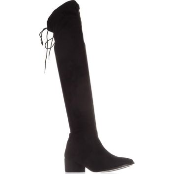 Chinese Laundry Mystical Pull On Over-The-Knee Boots, Black, 9 US / 40 EU