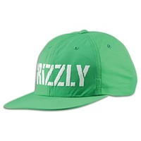 Grizzly Stamp Logo Nylon Snapback - Men's at CCS