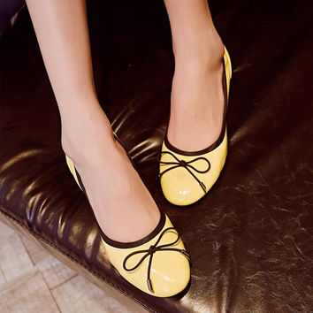 Summer Soft Butterfly With Heel Shoes [4920470916]