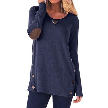 Casual Side Buttoned Top