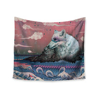 "Mat Miller ""Lone Wolf"" Wall Tapestry"