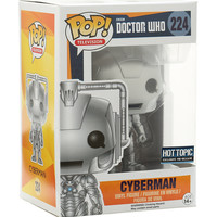 Funko Doctor Who Pop! Television Cyberman Vinyl Figure Hot Topic Exclusive Pre-Release